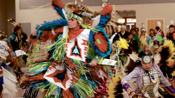 Indian Tribes from all over the tristate area came to the 34th Annual NASA Powwow in the Sharwan Smith Center on Friday and Saturday.