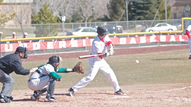 The SUU baseball team played a double-header against the Utah Valley Universuty Wolverines Friday.  In game one the T-birds were outscored 18-8.