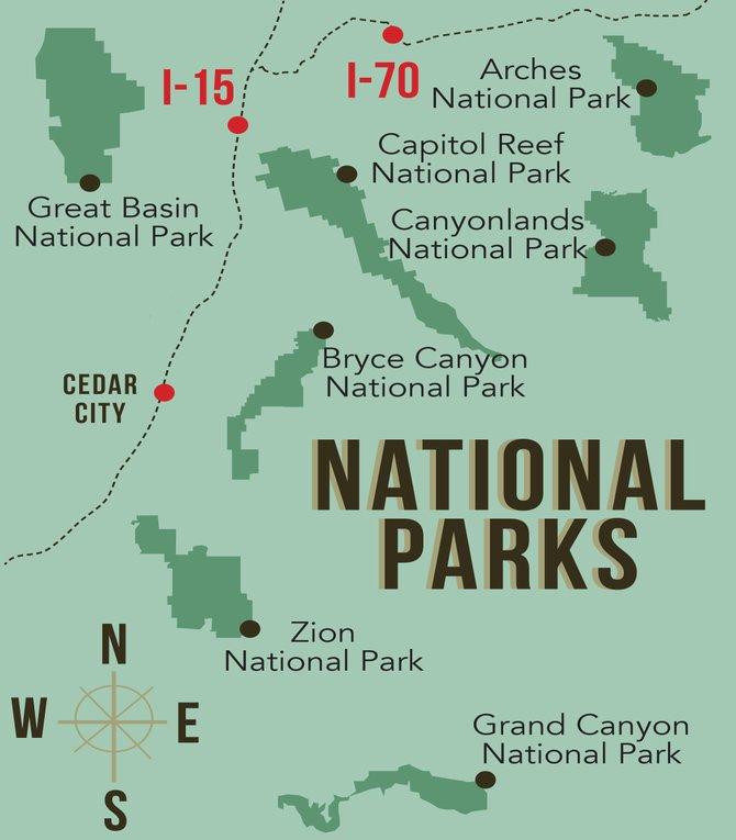 I70 Utah Map Related Keywords  I70 Utah Map Long Tail