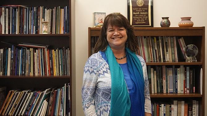 Danielle Dubrasky, Associate Professor of English and Director of Tanner Center.