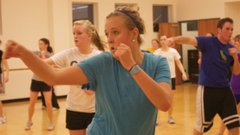 Free exercise classes are now offered on campus.